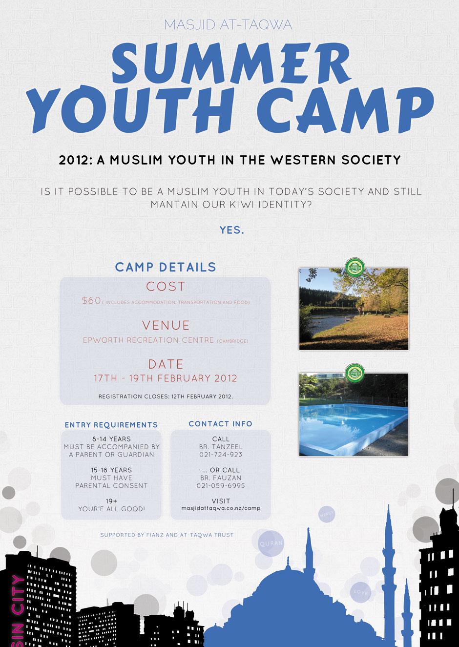 Masjid at-Taqwa Summer Youth Camp 2012