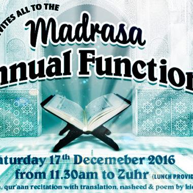 madrasah annual function