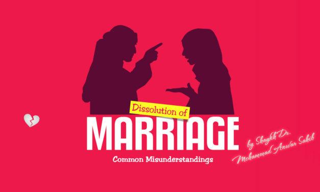 Dissolution of Marriage: Common Misunderstandings