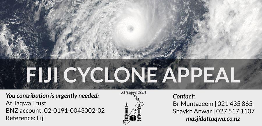 Fiji Cyclone Appeal