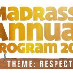 Madrasah Annual Programme 2017