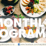 October Monthly Programme